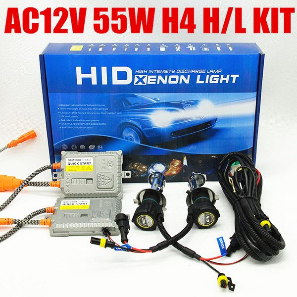 H4 H//L 4300K 35W HID Bi Xenon Bulbs Replacement HONDA