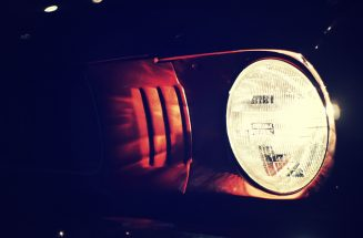 american-car-car-lights-dark-ford-397234